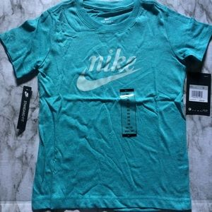 "Nike Short Sleeve Turquoise Shirt ""The Nike Tee"""